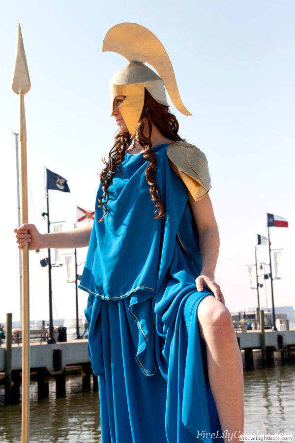 Athena Costume From Greek Mythology The Home Of Fire