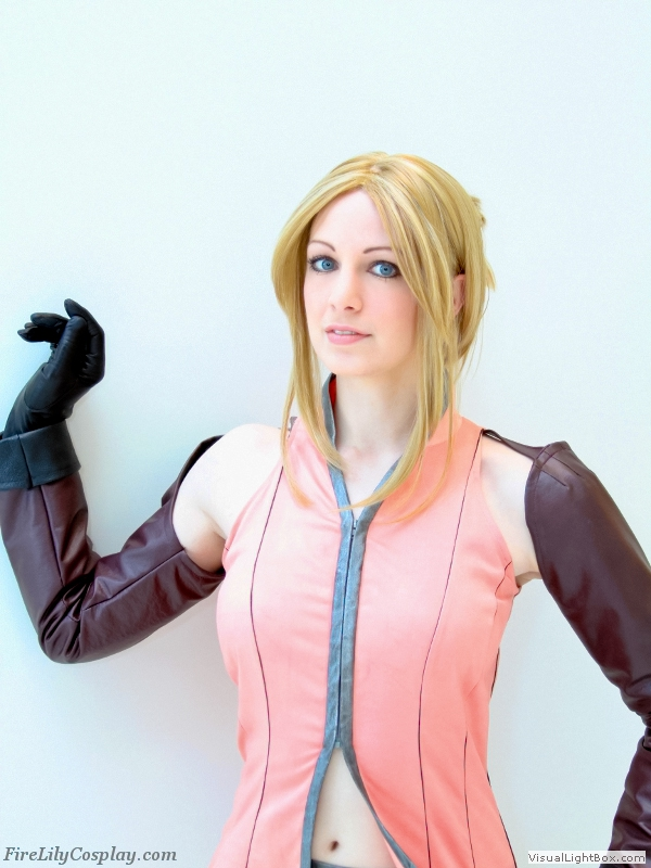 Quistis Trepe Cosplay From Final Fantasy Viii The Home